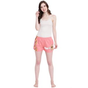 La Intimo Juicy Mango Dark Pink Shorts - ( Code - Bolif003dp0 )