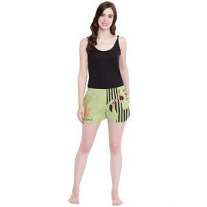 Sukkhi,Ivy,Triveni,Kaamastra,The Jewelbox,Tng,Surat Diamonds,La Intimo Women's Clothing - La Intimo Get Ready Pista shorts - ( Code - BOLIF004PA0 )