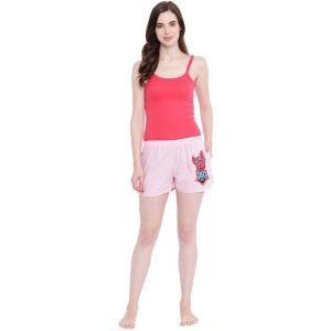 soie,kaamastra,the jewelbox,sinina,see more,sangini,la intimo,magppie Shorts (Women's) - La Intimo Funk You Pink shorts - ( Code - BOLIF006PK0 )