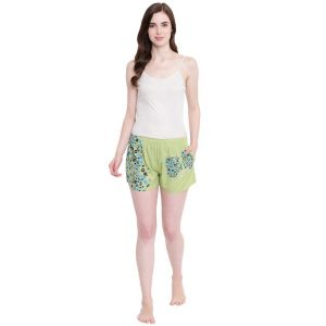 my pac,clovia,cloe,la intimo,surat tex,pick pocket Shorts (Women's) - La Intimo Feeling Love Pista shorts - ( Code - BOLIF007PA0 )