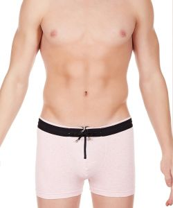 La Intimo - Zipper Boxer Pink For Men - Libo004pk1