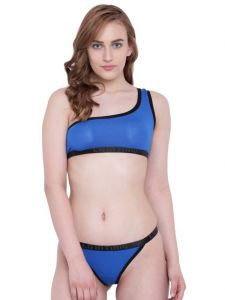 triveni,platinum,jagdamba,ag,estoss,port,Lime,Lotto,The Jewelbox,Aov,Sigma,Fasense,La Intimo Apparels & Accessories - La Intimo Beach Bikini Royal Blue Resort/Beach Wear - ( Code - LIF2P002RB0 )