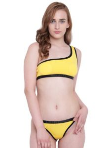 tng,bagforever,clovia,asmi,kaara,la intimo Swim Wear (Women's) - La Intimo Beach Bikini Yellow Resort/Beach Wear - ( Code - LIF2P002YW0 )