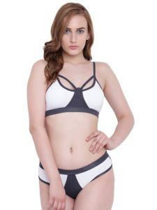 Swim Wear (Women's) - La Intimo Black Mermaid Bikini White Resort/Beach Wear - ( Code - LIF2P003WE0 )