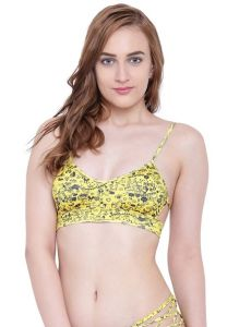 La Intimo,Shonaya,Sangini,Unimod,Lime Women's Clothing - Multi (Digital Prints )a Intimo Lakeside Bikini Bra - ( Code -LIFBR010ZM0 )
