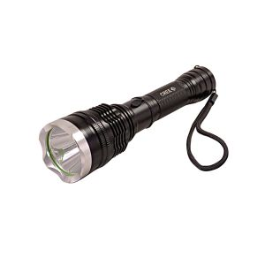Gor Sun Tactical Rechargeable 300m LED Flashlight 6.8 Inch Torch