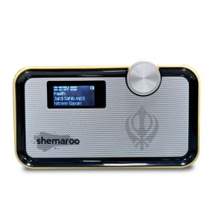 Multimedia - Shemaroo Amrit Bani Bluetooth Speaker (Light Wood)