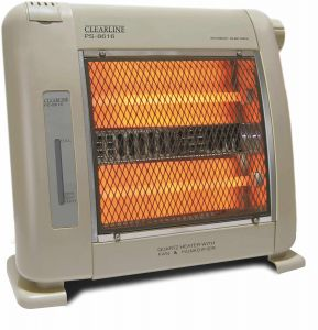 Clearline Electrical Appliances - Clearline-Room Heater - Standing Heater - Shock Proof - Child Safe - 240V