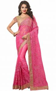 Designer Sarees - Sudarshan Silks  Pink  Dupion Silk  Saree  SP_KLK55002