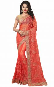 Designer Sarees - Sudarshan Silks  Red  Dupion Silk  Saree  SP_KLK55013
