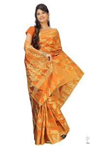 Sudarshan Silks Maroon Art Silk Saree-kspl36