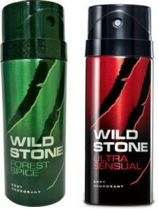 Wild Stone Forest Spice And Ultra Sensual Combo Set (set Of 2)