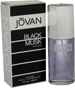 Perfumes - Jovan Black Musk EDC  -  88 ml (For Men)