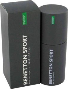 Benetton,Clinique,Maybelline,Indrani Personal Care & Beauty - Benetton Sport EDT  -  100 ml (For Men)