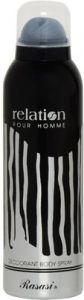 Rasasi Deodorants - Rasasi Relation Deodorant Spray  -  200 ml (For Men)