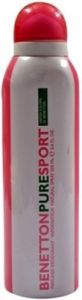 Benetton,Maybelline,Vaseline,Kaamastra,Viviana Deodorants - Benetton Pure Sport Deodorant Spray  -  200 ml (For Women)