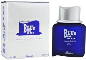 Globus,Garnier,Rasasi Personal Care & Beauty - Rasasi Blue EDT  -  100 ml (For Men)