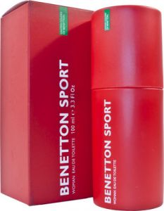Benetton,Wow,Gucci,Cameleon Personal Care & Beauty - Benetton Sport EDT  -  100 ml (For Women)