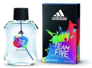 Adidas,Indrani Personal Care & Beauty - Adidas Team Five EDT  -  100 ml (For Men)