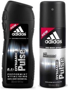 Adidas Deodorants - Adidas Dynamic Pulse 2-in-1 Shower Gel & Dynamic Pulse deo (Set of 2)