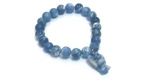 Sodalite Angel Powered Stretch Bracelet