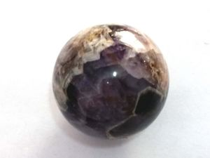 100 % Genuine Amethyst Sphere / Ball (40 Mm) Amethyst Ball