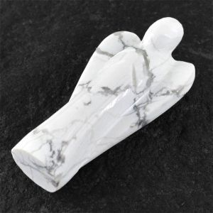 Howlite 2 Inches Guardian Angel