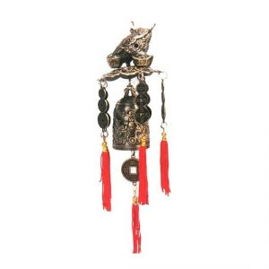 Chan Chu Feng Shui Money Frog Bell For Goodluck And Prosperity Feng Shui Bell