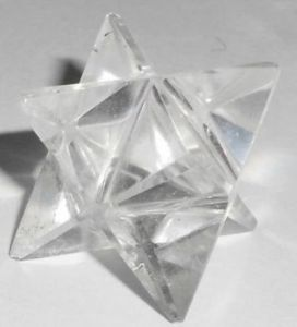 Clear Quartz Crystal Star / Markaba