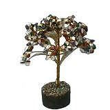 Fengshui Natural Gem Stones Tree For Luck Wealth And Positive Energy