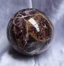 b6d4a87bf Buy 100 Percent Genuine Amethyst Sphere (150 Gram) (crystal Healing)  Amethyst Ball