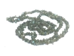 Labradorite Chip Mala High Grade