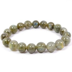 Labradorite Crystal High Grade 8 MM Bracelet