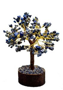 Lapis Lazuli High Grade 300 Chips Gem Tree