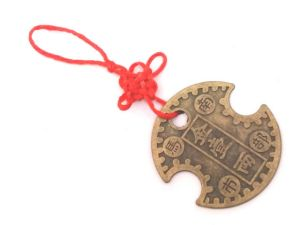 Nanbu Wealth Lock Lucky Coin Hanging For Health Wealth And Prosperity