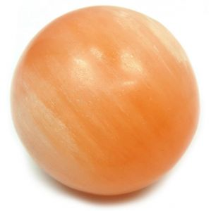 Orange Selenite Crystal Ball / Sphere