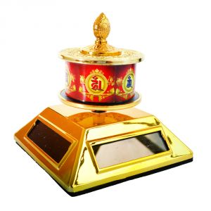 Buddhist Om Mani Prayer Wheel (solar) Prayer Wheel