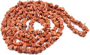 Red Jasper High Grade Chip Rosary / Mala ( Crystal Healing )