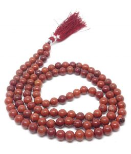 Red Jasper 6 MM High Grade Rosary / Mala ( Crystal Healing )