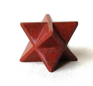 Red Jasper Mercaba Star , Red Jasper Star