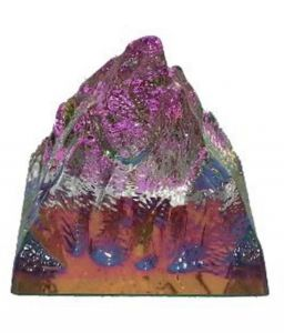 Rock Crystal Glass Pyramid Healing Crystal Feng Shui Pyramids