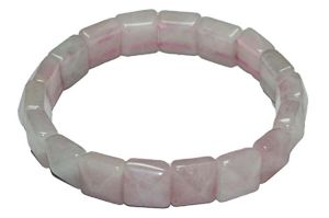 Rose Quartz Pyramid Shape Bracelets (crystal Healing) Astro Product