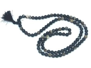 Sulemani Hakik Power Matte Finish Mala ( 8 MM ) ,king Sulemani Agate Rosary