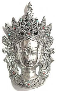Tibetan Tara Devi Head Wall Hanging