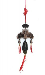 Tibetan Auspicious Pagoda Bell For Luck And Prosperity ( Code - Pagodabell )