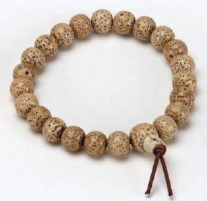Tibetan Lotus Seed POWER Bracelet , Lotus Seed Wrist Mala, Lotus Seed Bracelet ( CODE - LOTUSBR )