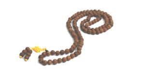 Tibetan Lotus Seed Stretch Mala ( Rosary ) 9.5 MM