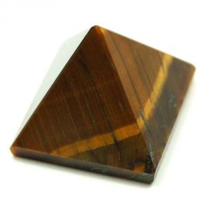 Tiger Eye High Grade Pyramid 100 Grams ( Code - Tigerpr100 )
