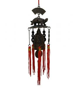 Feng Shui Lucky Tortoise Bell Car & Home Hanging For Good Luck And Prosperity