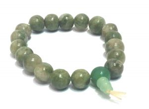 Unakite Crystal Power Stretch Bracelet